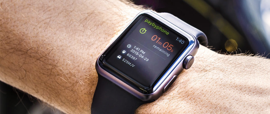 Pay for your parking via Apple Watch