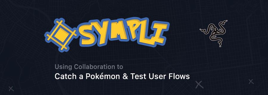 How to catch a Pokemon using Sympli