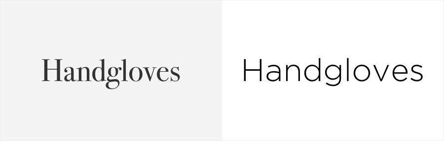 Serif vs sans-serif fonts