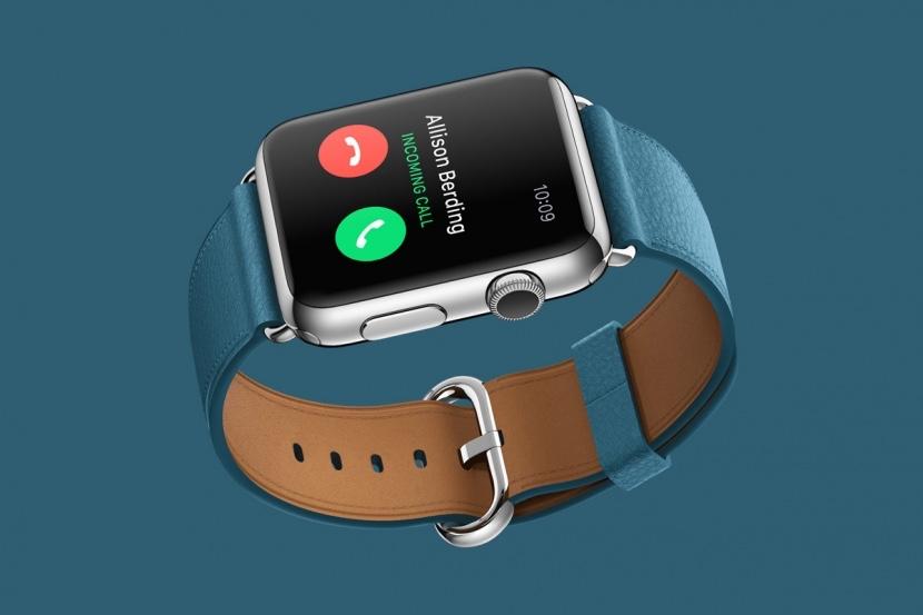 Recieving a call via Apple Watch