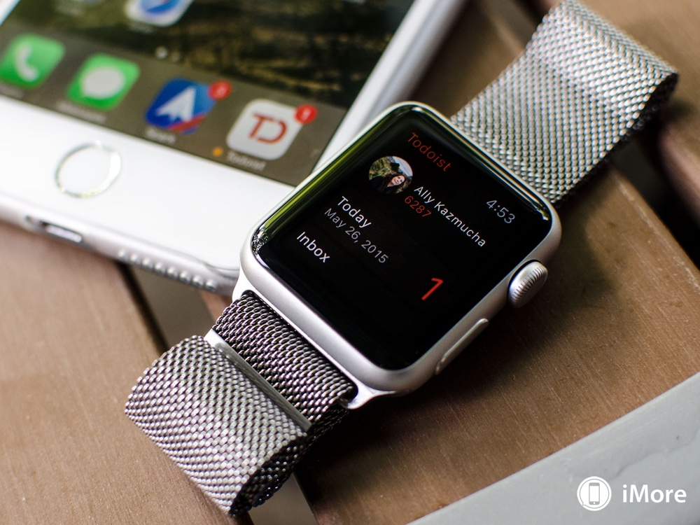 Managing to-dos via Todoist for Apple Watch