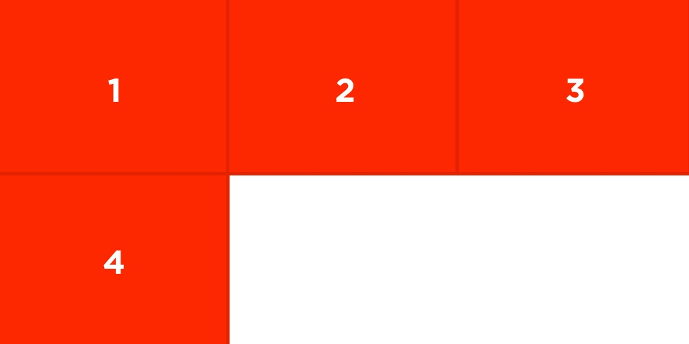 CSS Grid column start and column end
