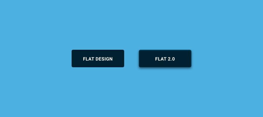 Flat Design vs. Flat 2.0
