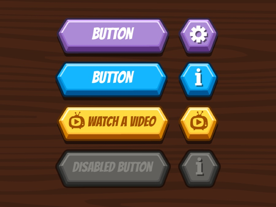 Disabled buttons