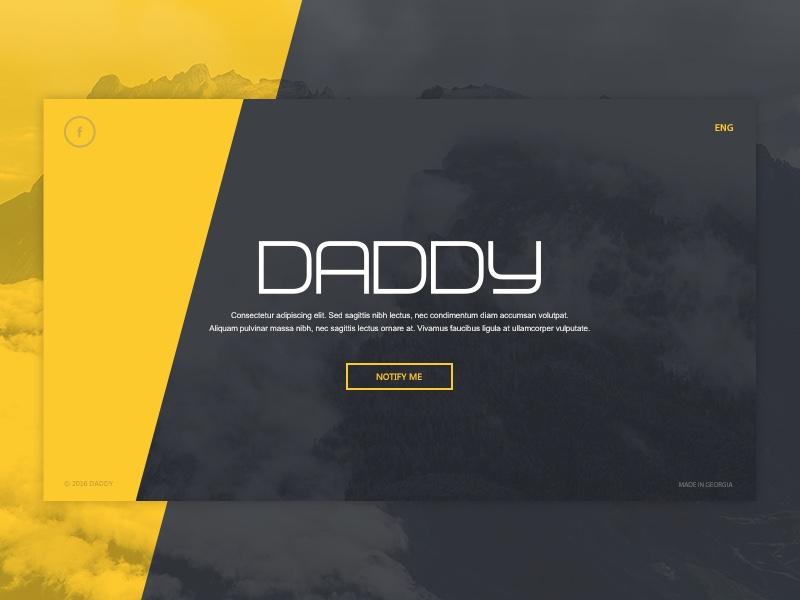 Daddy, additional step