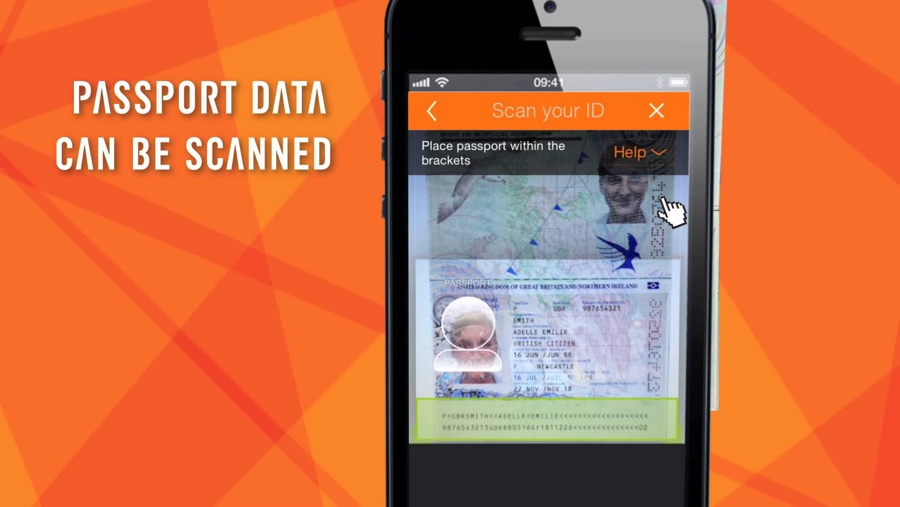 Jumio: use the native camera app to check into flights with Passport/ID verification