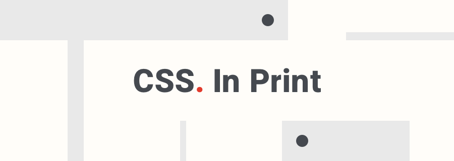 CSS Media for Printable Webpages
