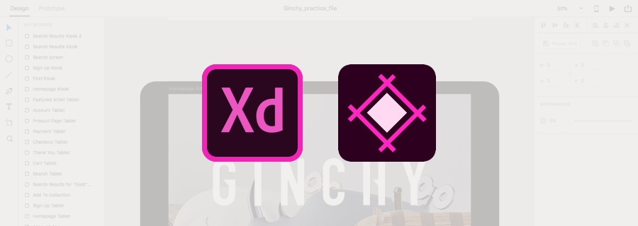 High-Fidelity Prototyping and Design Handoff with Adobe XD and Sympli
