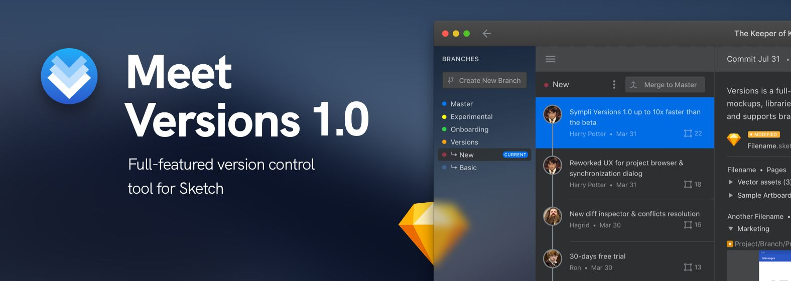 Meet Versions 1.0