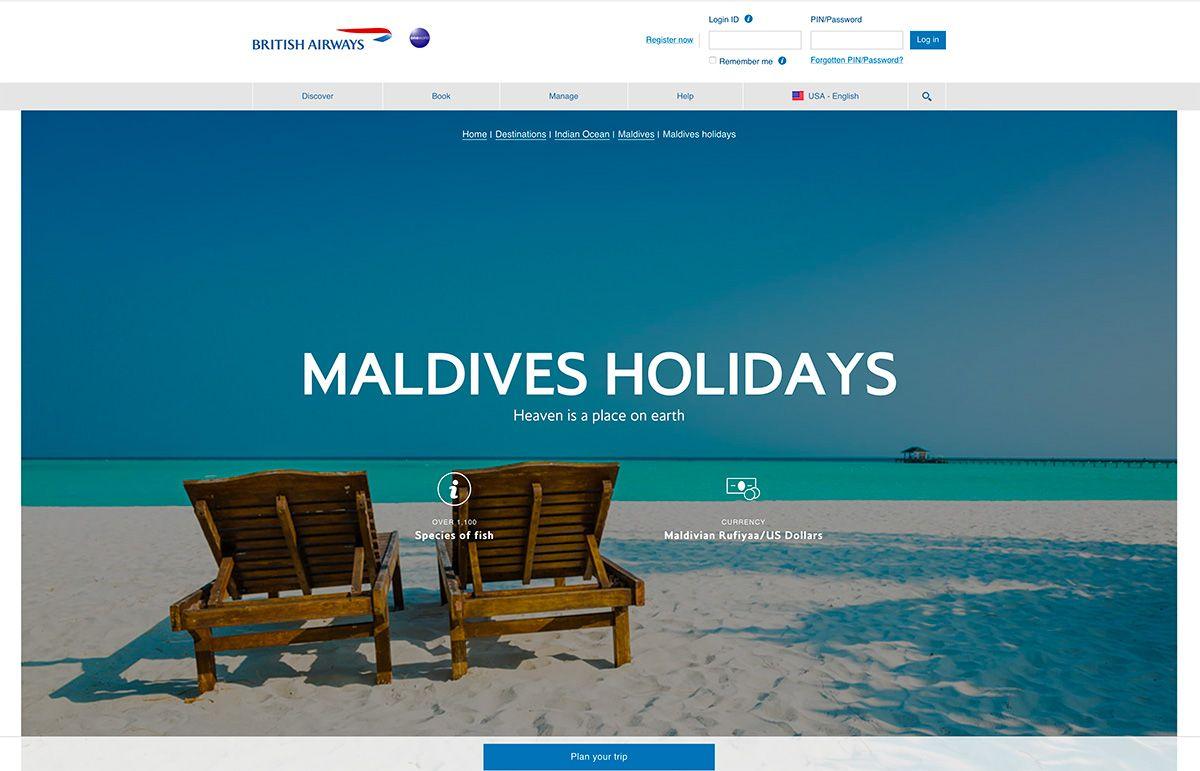 Thomson Holidays luxury beach branding