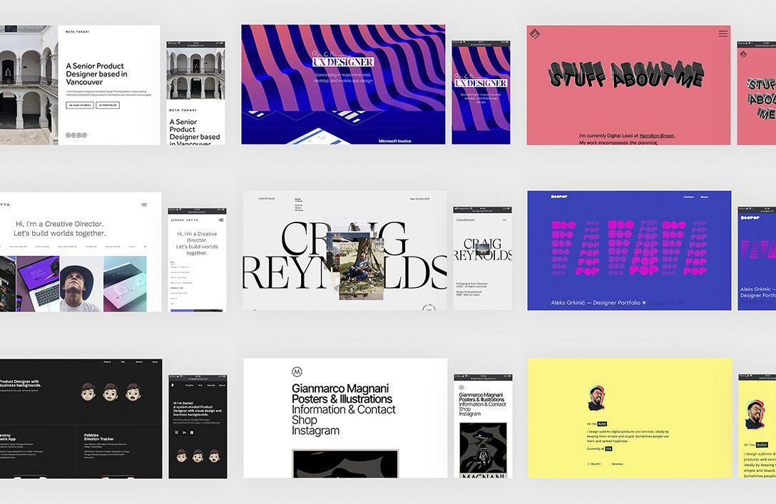 10 Designers Portfolios For UI Inspiration