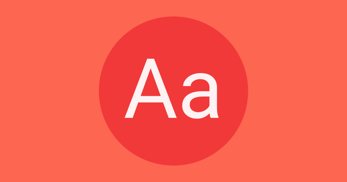 Web Typography Guidelines