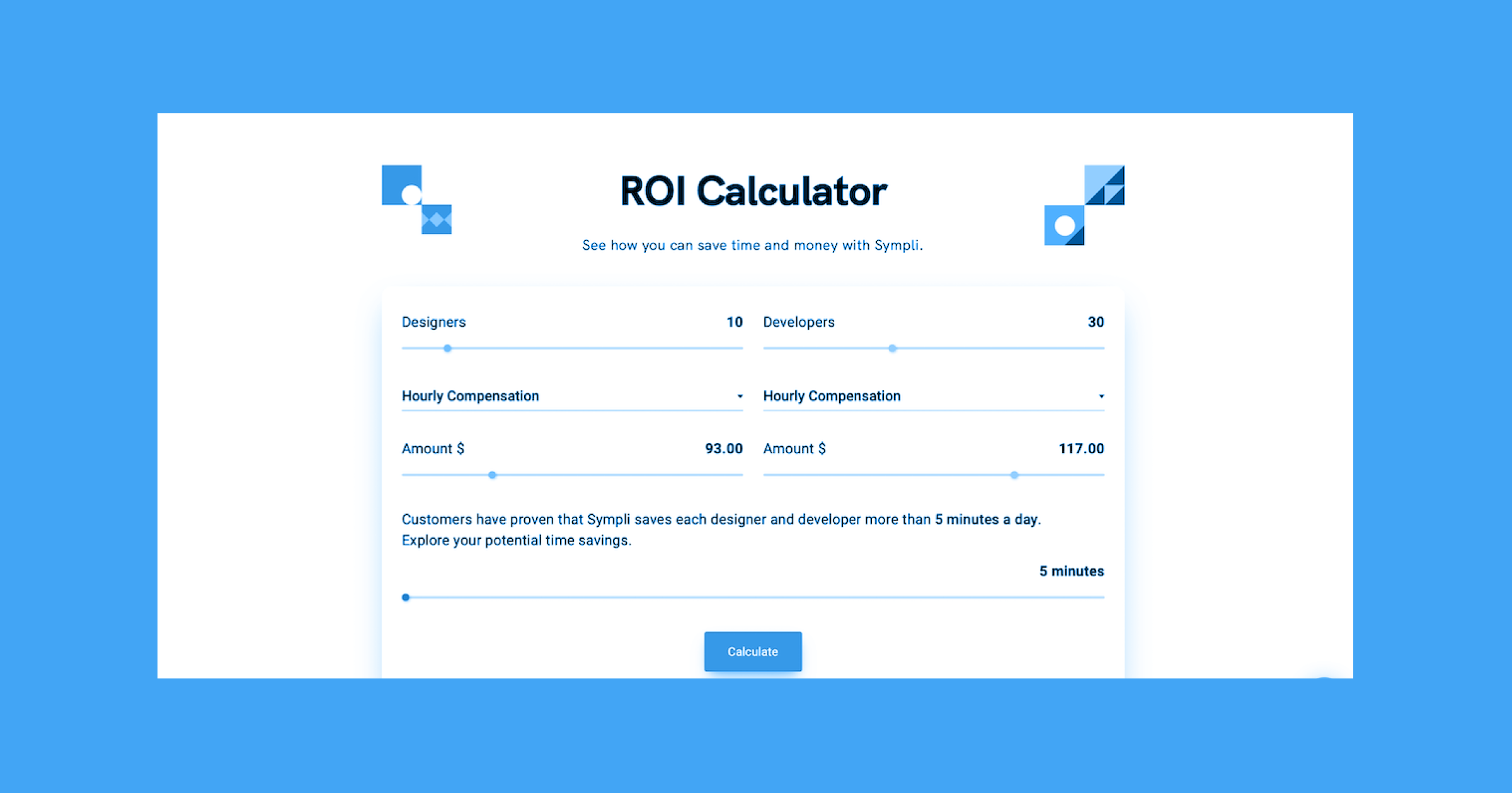Introducing the Sympli ROI Calculator – See how much you can save