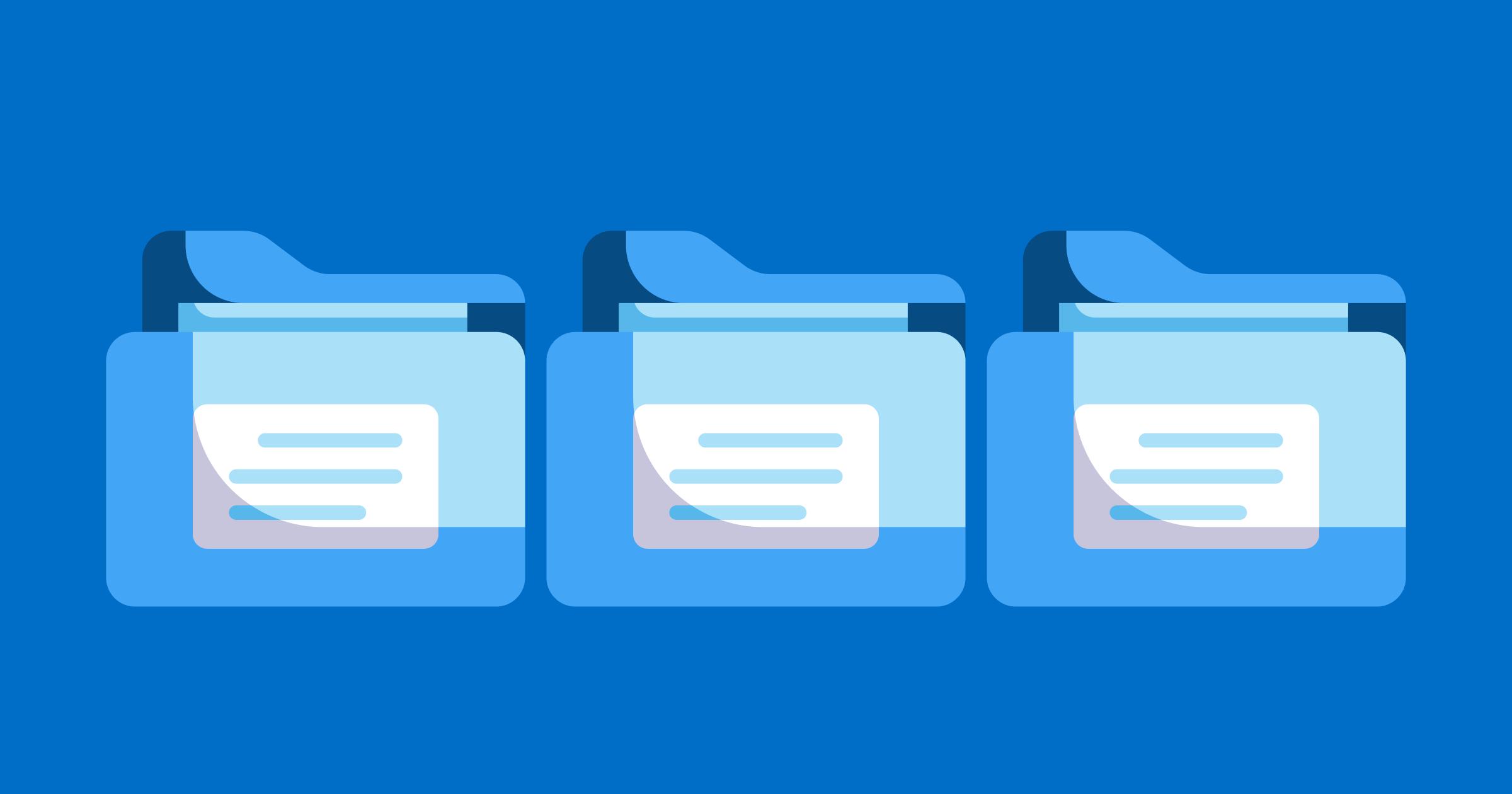 Top Tips For Organising Design Files